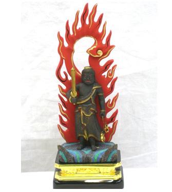 2014年4月2日 不動明王の仏像修復