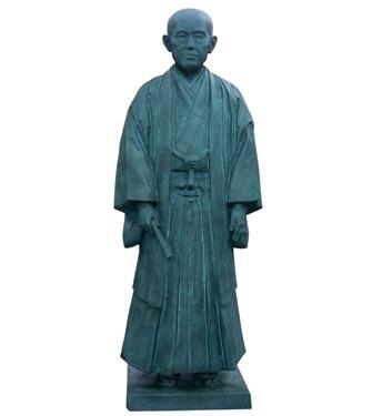 2012年10月26日 銅像(ブロンズ像) 修復