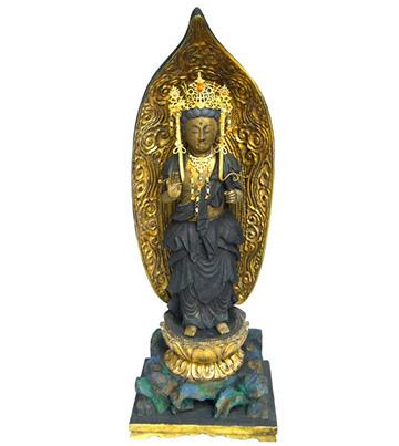 2014年7月30日 阿弥陀如来像の修復