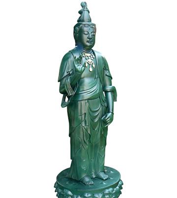 2012年2月9日 銅像の修理・クリーニング
