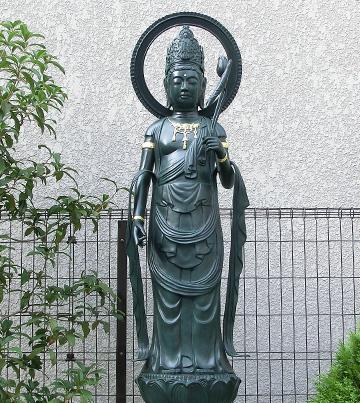 2014年10月4日 銅像のボルト取付