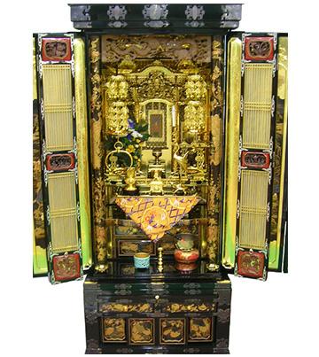 12月4日 金仏壇のクリーニング