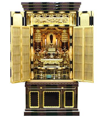 10月15日 金仏壇のクリーニング