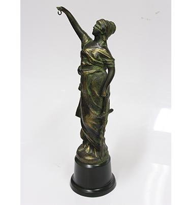 2016年 正義の女神 銅像の修理