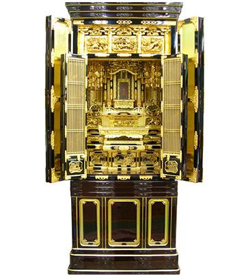 3月7日 金仏壇のクリーニング